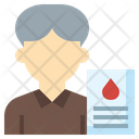 Blood Test Blood Report Patient Report Icon