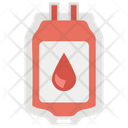 Iv Drip Blood Bag Blood Transfusion Icon