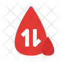 Blood Transfusion Infusion Drip Blood Bag Icon