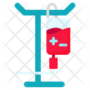 Blood Transfusion Medical Icon