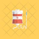 Iv Drip Blood Icon