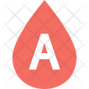 Blood Type A Blood Group Blood Group Icon