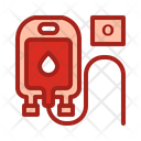 Blood Type O Blood Pouch Blood Bag Icon