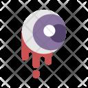 Bloody Eye Eyeball Icon