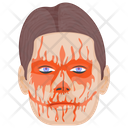 Bloody Face Icon