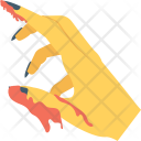 Bloody Hand Icon