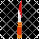 Bloody Halloween Knife Icon
