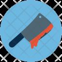 Bloody Knife Halloween Icon