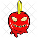 Bloody Pumpkin Halloween Pumpkin Carved Pumpkin Icon