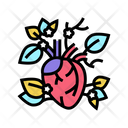 Blooming Heart Blooming Heart Icon