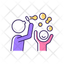 Blow Bubbles Together Icon