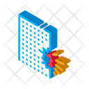Blow House Collapse Icon