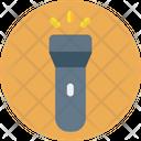 Blow Torch Flashlight Light Icon