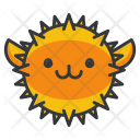 Blowfish Animal Icon