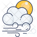 Blowing Windy Wind Icon