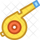 Blowing Whistle Coach Icon