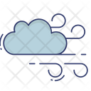 Blowing Cloud Icon