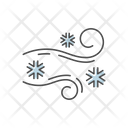 Blowing Snow Icon