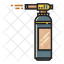 Blowtorch Flame Fire Icon