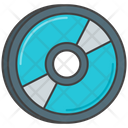 Mblu Ray Blu Ray Cd Icon