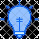 Blub Light Idea Icon