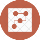 Blue Document File Icon