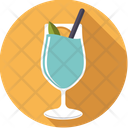 Swimming pool cocktail Icon