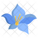 Blue Bell Flower Flowers Icon