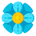 Blue Buttercup Icon