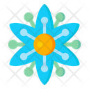 Blue Clematis Icon