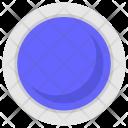 Blue color Icon