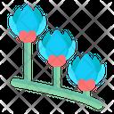 Blue Crocus Icon