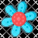 Blue Daisy Icon