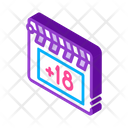 Clapper Board Film Icon