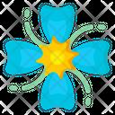 Blue Lilac Icon