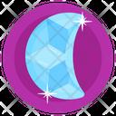 Gemstone Blue Moonstone Emerald Icon