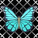Blue Morpho Adult Icon
