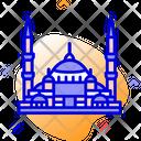 Blue Mosque Istanbul Turkey Icon