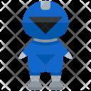 Blue Ranger Man Icon