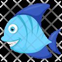Blue Tang Fish Icon