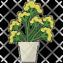 Blue Tansy Plant Icon