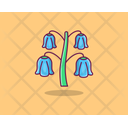 Bluebell Spring Flower Agriculture Icon