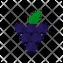 Blueberries Food Berries Icon