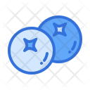 Blueberry Berry Berries Icon