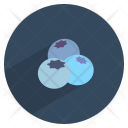 Blueberry Berries Fruit Icon