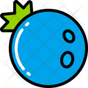 Blueberry Food Eating Icon