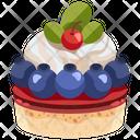 Blueberry Cheesecake Icon