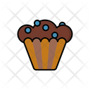 Blueberry Muffin Icon