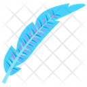 Bluebird Feather Feather Plumage Icon