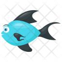 Bluefin Tuna Scombridae Icon